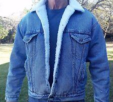 Levi's Vintage Denim Jacket - Sherpa Lined - Men's Medium