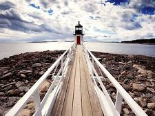 MARSHALL POINT LIGHTHOUSE SEASCAPE PHOTO ART PRINT POSTER PICTURE BMP653A