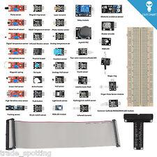 SainSmart Starter Kit for Raspberry Pi 2 B+ with 40-Pin GPIO Board+ 37 Sensors