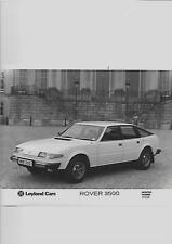 LEYLAND CARS ROVER 3500 'S' REGISTERED PRESS PHOTO 'SALES BROCHURE' CONNECTED