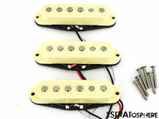 * NEW Alnico 5 for Fender Stratocaster PICKUP SET Strat Pickups Cream Covers