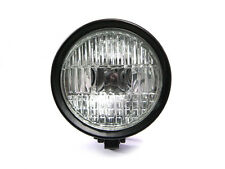 "5.9"" 12V / 55W Matt Black Headlight For Harley Davidson Sportster Dyna Softail"