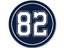 4x4 in Round # 82 Jason Witten Sticker -decal cowboys colors number star player
