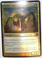 Magic the Gathering 1x OVERSIZED Animar, Soul of Elements x1 FOIL Commander