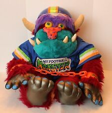 RARE Vintage 1986 MY FOOTBALL MONSTER AmToy My Pet Monster ** Complete ** NICE