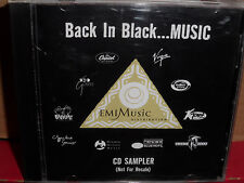 Back in Black Music PROMO CD Rare R&B Tracie Spencer MONTREL DARRETT Ideal LES N