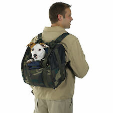 Dog/Cat/Pet/Backpack/Carrier/Bag - Casual Canine - Camo - NEW