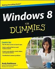 Windows 8 For Dummies 2012 by Rathbone, Andy 1118134613