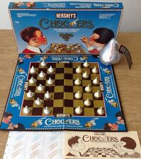 Hershey's Kisses Chocers Checkers Board Game Complete Plush Candy Play Set