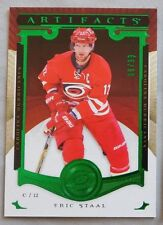 2015 Upper Deck Artifacts Emerald 112 Eric Staal Carolina Hurricanes /99