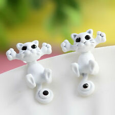 Kitten New Ear Jewelry Cat Stud Earrings Women Trendy Charm 3 D
