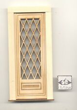 Door - Tudor Diamond  - 2325 wooden dollhouse miniature 1:12 scale USA made