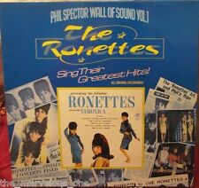 """THE RONETTES~ """"WALL OF SOUND Vol.1~""""SEALED-MINT""""~UK-LP!!!"""