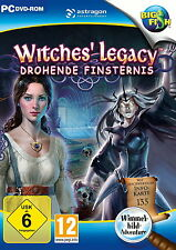 WITCHES` LEGACY * DROHENDE FINSTERNIS *  WIMMELBILD-SPIEL  PC DVD-ROM