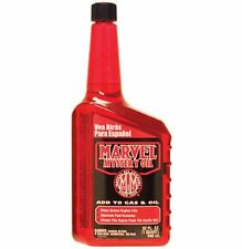 Marvel Mystery Oil Cleans Lubricates Fuel Injectors and Carburetors 32 Oz.