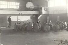 WWII US Large RP- Basketball Court- MG- Soldier- Berlin Occupied Germany- 1946