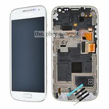 White LCD Digitizer Touch Screen Display For Samsung Galaxy S4 Mini i9190 i9195