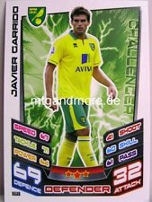 Match Attax 2012/13 Premier League - #168 Javier Garrido - Norwich City