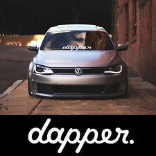DAPPER CAR STICKER VINYL DECAL JDM FUNNY VW MOD JDM