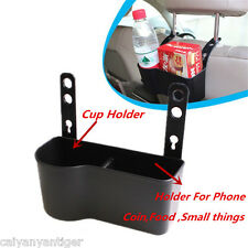Auto Seat Back Organize Drink Cup Holder Storage Food Box Cover Car Accessories