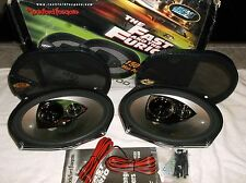 OLD SCHOOL ROCKFORD FOSGATE FAST & FURIOUS 6x9 SPEAKERS- FFC69 SET-   RARE- NEW