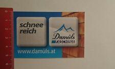 Aufkleber/Sticker: Damüls Faschina schneereich (10111659)