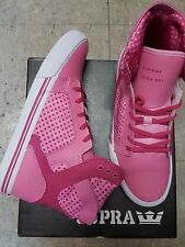 SUPRA SKYTOP PINK WHITE KIDS SHOES SIZE 5.5 NEW IN BOX