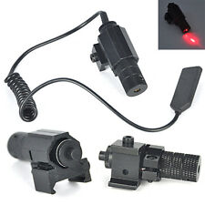 Hunting Red Laser Dot Beam Tactical Sight Scope Picatinny Rifle Pistol Mount Gun