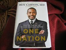 One Nation What We Can All Do to Save America's Future  Ben CARSON HD SIGNED