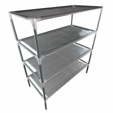 4 Tiers Metal Adjustable Shoes Shelf Rack Stand Organizer Storage Boot Holder