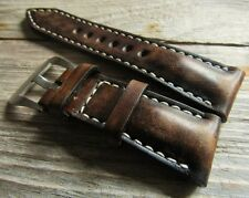 Strap in vintage style   26/22  135/75 approx for Panerai watch