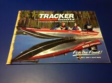 2013 Tracker Bass Fishing Boat Catalog Brochure Angler Targa Pro Guide Super
