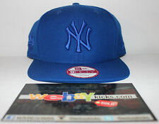 New Era New York Yankees Royal Blue Snapback Cap Hat New