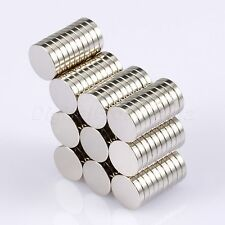 Lots 100pcs Strong Round Cylinder Disc Magnets N50 Rare Earth Neodymium 10x2mm