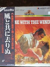GONE WITH THE WIND Laser Disc Printed in Japan New! Sealed.