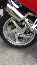 VFR800 fi RC46 anniversary Rear wheel and Swing arm Chrome plugs and nut covers
