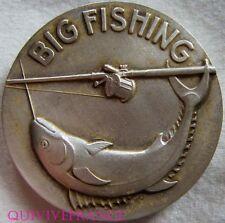 MED4050 - MEDAILLE PECHE BIG FISCHING 1967 SNIM  MARSEILLE