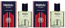 Hattric Classik After Shave nach der Rasur Glasflasche 2x100 ml (130)
