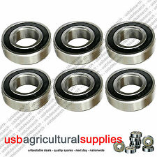 6 x NEW DECK BEARINGS COUNTAX WESTWOOD TRACTOR MOWERS 10806600 - NEXT DAY DELIV