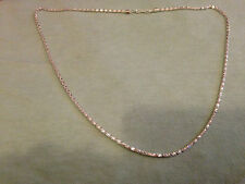 """2 x 2mm Silver Colour beautiful snake chain 20"""" light necklace for pendant charm"""