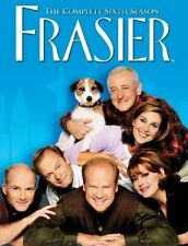 Brand New DVD Frasier Complete Sixth Season Kelsey Grammar David Hyde Pierce