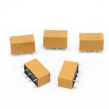 10Pcs 8Pin HK19F-DC5V-SHG 1A 125V AC/2A 30V DC Mini Power Relay