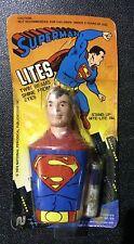 VINTAGE 1974 SEALED NASTA SUPERMAN STAND UP NITE-LITE! UNPUNCHED! RARE!