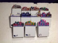 (264) Assorted Crayola Crayons Metallic FX , Gel FX , Scintilants BULK