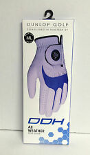 Dunlop Golf Glove Left Hand M/L White - DDH All Weather Golf Glove