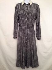 Liz Claiborne Wear To Work Dress Career Secretary Long Sleeve Conservative Sz. 4