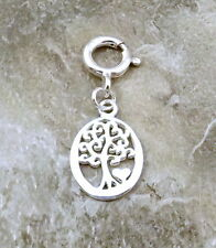 Sterling Silver Tree of Life Charm fits European and Link Charm Bracelets - 1566