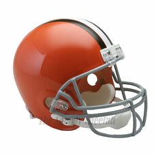 CLEVELAND BROWNS 62-74 THROWBACK FOOTBALL HELMET – RIDDELL FULL SIZE REPLICA