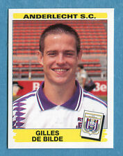 FOOTBALL 96 BELGIO Panini - Figurina-Sticker n. 42 -G. DE BILDE-ANDERLECHT-New