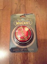 World Of Warcraft Ding Level Up Button Figure Rare Brand New Limited Wow